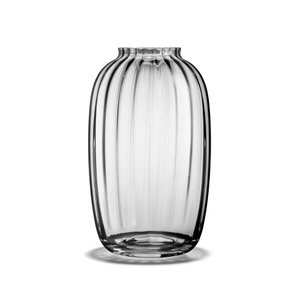 花瓶  北欧 フラワーベース ホルムガード  プリムラ HOLMEGAARD PRIMULA ベース クリア 25.5cm 4340390 吹きガラス 日本正規代理店品|bellemessage