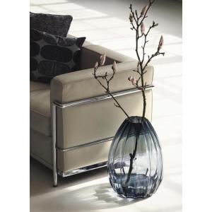 花瓶 ホルムガード HOLMEGAARD 2LIPS チューリップス ベース ブルー H45cm 4...