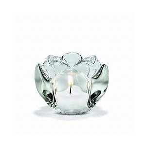 キャンドルホルダー  ガラス ギフト 北欧 ホルムガード LOTUS  ロータス ティーライトホルダー (S) H6.5cm 4341629 日本正規代理店|bellemessage