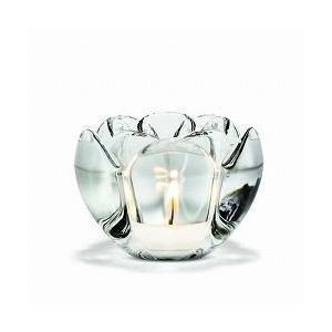 キャンドルホルダー ガラス ギフト 北欧 ホルムガード LOTUS  ロータス ティーライトホルダー (M) H7cm 4341631 日本正規代理店品|bellemessage
