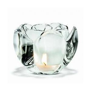 キャンドルホルダー ガラス ギフト 北欧 ホルムガード LOTUS  ロータス ティーライトホルダー (L) H9cm 4341632 日本正規代理店品|bellemessage