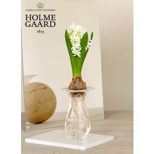 花瓶  北欧 ヒヤシンス ベース 4343804 ホルムガード オールドイングリッシュ フラワーベース 吹きガラス 日本正規代理店品|bellemessage