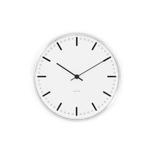 時計 壁掛け 掛け時計 アルネ・ヤコブセン Wall Clock シティーホール  210mm  ローゼンダール コペンハーゲン 43631 日本正規代理店品|bellemessage