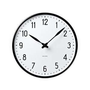 時計 壁掛け 掛け時計 アルネ・ヤコブセン  Wall Clock  ステーション 290mm   ローゼンダール コペンハーゲン 日本正規代理店品|bellemessage