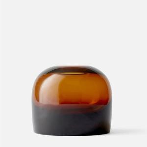フラワーベース ガラス  MENU メニュー トロールベース Mサイズ アンバー H12cm 4732929  北欧 インテリア 花瓶|bellemessage