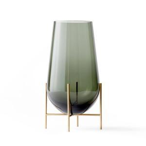 フラワーベース ガラス  MENU メニュー イシャスベース M スモーク H45cm 4796949  北欧 インテリア|bellemessage