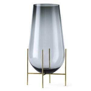 フラワーベース ガラス  MENU メニュー イシャスベース L スモーク H60cm 4797949  北欧 インテリア|bellemessage