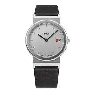 腕時計 メンズ腕時計 ブラウン BRAUN Watch  AW50 シルバー×ブラック ブラウン ウォッチ 日本正規代理店品|bellemessage