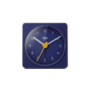置き時計 ブラウン BRAUN  トラベル アナログ アラームクロック  BC02BL ブルー 目覚まし時計 日本正規代理店品|bellemessage