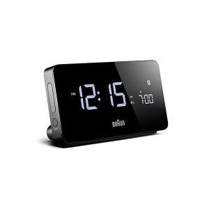置き時計 ブラウン BRAUN  デジタル クロック BNC020BK ブラック|bellemessage