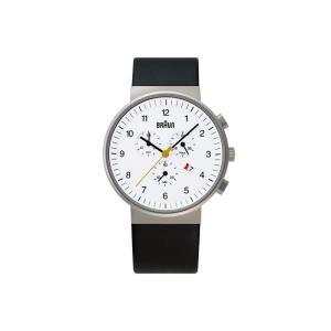腕時計 メンズ腕時計 ブラウン BRAUN Watch BN0035 ホワイト BNH0035WHBKG ウォッチ 日本正規代理店品|bellemessage