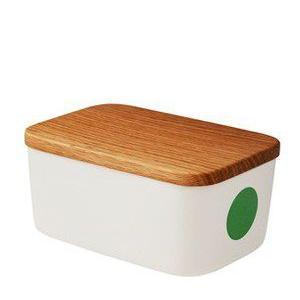 バターケース 北欧 ヘルバック HELBAK  バターボックス DOT butterbox カラー:グリーン 北欧雑貨|bellemessage