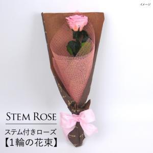 クリスマス 花 プレゼント 2020 プリザーブドフラワー  #ステム付きローズ【 1輪の花束】「なでしこJAPAN」にカズが贈ったバラ  あすつく対応|belles-fleurs