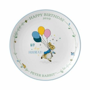 WEDGWOOD PETER RABBIT BIRTHDAY PLATE 2019 シリーズ:ピータ...