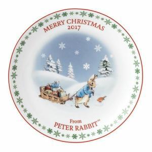 WEDGWOOD PETER RABBIT CRISTMAS PLATE 2017 シリーズ:ピータ...