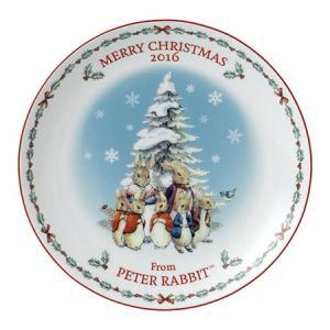 ウェッジウッド ピーターラビット クリスマスプレート 2016年