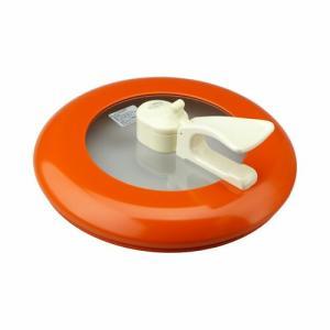 平野レミのお鍋 レミパン24cmのフタのみ オレンジ