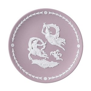WEDGWOOD JASPER WARE(White on Lilac) YEAR PLATE 20...