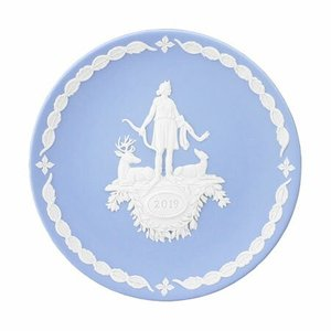 WEDGWOOD JASPER WARE(White on Pale Blue)<br>...