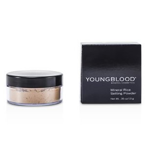 ヤングブラッド Youngblood パウダー ミネラルライスセッティング ルースパウダー - Medium 10g/0.35oz|belleza-shop