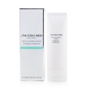 資生堂 Shiseido 洗顔 メンズ メン ディープ クレンジング スクラブ 125ml/4.2oz|belleza-shop