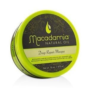 マカダミアナチュラルオイル Macadamia Natural Oil ヘアトリートメント、パック ディープリペアマスク(ドライ、ダメージヘア) 500ml/16.9oz belleza-shop