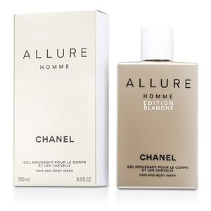 シャネル Chanel シャワージェル メンズ アリュール オム エディション ブランチェ ヘア&ボディーウォッシュ(Made in USA) 200ml/6.8oz|belleza-shop