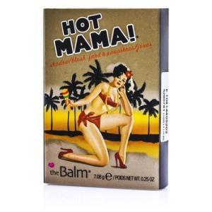 ザバーム TheBalm チーク ホットママ! シャドウ/ブラッシュ 7.08g/0.25oz|belleza-shop