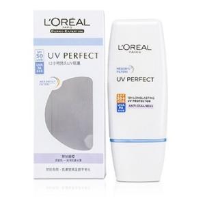 ロレアル L'Oreal サンケア、タンニング ダーモ エクスパタイズ UV パーフェクト ロング ラスティング UVA/UVB プロテクター SPF50 PA+++ - #アンチダルネス|belleza-shop
