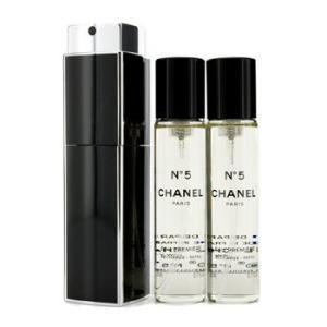 シャネル Chanel 香水 No.5 オープルミエール オードパルファム パーススプレー&リフィル2本 3x20ml/0.7oz|belleza-shop