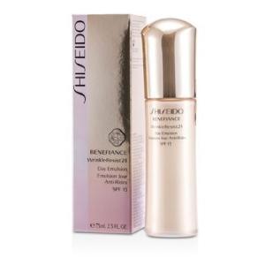 資生堂 Shiseido クリーム ベネフィアンス リンクルレジスト 24 デイ エマルジョン SPF15 75ml/2.5oz|belleza-shop