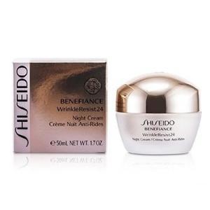 資生堂 Shiseido クリーム ベネフィアンス リンクルレジスト 24 ナイト クリーム 50ml/1.7oz|belleza-shop