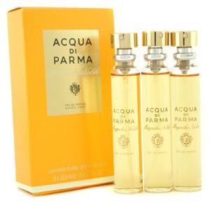 アクアディパルマ Acqua Di Parma 香水 マグノリア ノービレ レザー パース スプレー レフィル オードパルファム 3x20ml/0.7oz|belleza-shop
