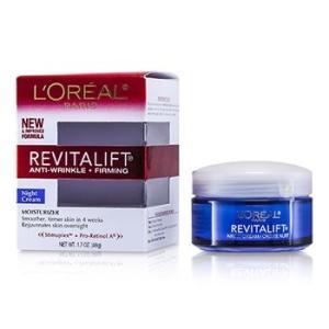 ロレアル L'Oreal クリーム リバイタリフト コンプリート ナイト クリーム 48g/1.7oz|belleza-shop