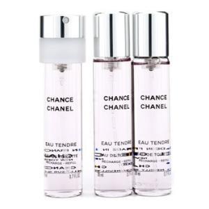 シャネル Chanel 香水 チャンス オー タンドゥル ツイスト&スプレー オードパルファム レフィル 3x20ml/0.7oz|belleza-shop