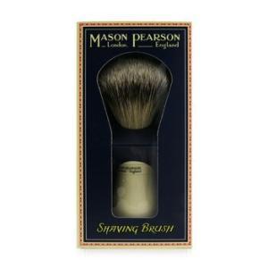 メイソンピアソン Mason Pearson アフターシェーブ メンズ スーパー バジャー シェービング ブラシ 1本