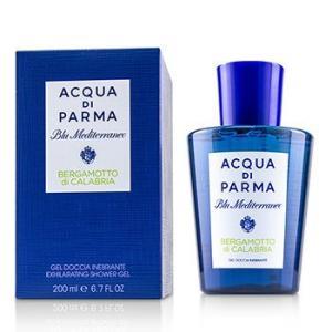 アクアディパルマ Acqua Di Parma シャワージェル ブル メディテラニオ ベルガモット ディ カラブリア シャワー ジェル(新パッケージ) 200ml/6.7oz|belleza-shop