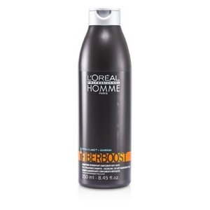 ロレアル L'Oreal ヘアシャンプー メンズ プロフェッショナル オム ファイバー ブースト シャンプー 250ml/8.45oz|belleza-shop