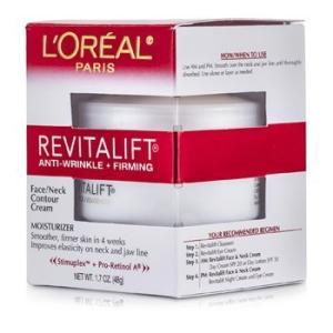 ロレアル L'Oreal クリーム リバイタリフト ファーミング フェイス/ネック コントゥール クリーム 48g/1.7oz|belleza-shop