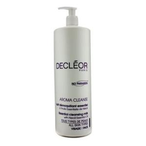 デクレオール Decleor クレンジング アロマ クレンズ エッセンシャル クレンジング ミルク(サロンサイズ) 1000ml/33.8oz|belleza-shop