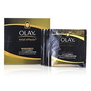 オーレイ Olay マスク トータル エフェクト ディリンクル ファーミング ストレッチマーク 5pcs|belleza-shop