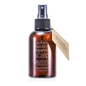 ジョンマスターオーガニック John Masters Organics ヘアトリートメント、パック ディープ スキャルプ フォリクル トリートメント&ボリューマイザー 125ml/4|belleza-shop