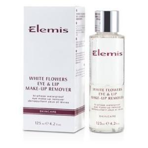エレミス Elemis クレンジング ホワイト フラワー アイ&リップ メイクアップリムーバー 125ml/4.2oz|belleza-shop