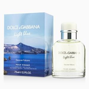 ドルチェ&ガッバーナ  Dolce & Gabbana 香水 ライト ブルー ディスカバー ヴルカーノ オードトワレ スプレー 75ml/2.5oz|belleza-shop