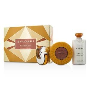 ブルガリ Bvlgari 香水 オムニア インディアン ガーネット コフレ 3pcs|belleza-shop