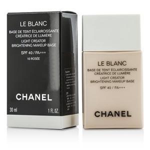 シャネル Chanel 化粧下地 ル ブラン ライト クリエーター ブライトニング メイクアップ ベース SPF40 - #10 Rosee 30ml/1oz|belleza-shop