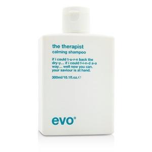 エボ Evo ヘアケア ザ セラピスト カーミング シャンプー(For Dry、Frizzy、Colour-Treated Hair) 300ml/10.1oz