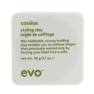 エボ Evo ヘアケア カシウス スタイリング クレイ(For All Hair Types、Especially Thick、Coarse Hair) 90g/3.1oz