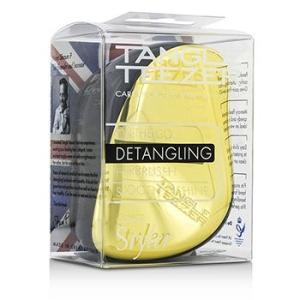 タングル ティーザー コンパクト スタイラー オンザゴー ディタングリング ヘアブラシ ゴールドラッシュ 1pc|belleza-shop