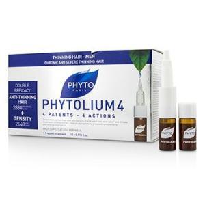 フィト フィトリウム 4 クロニック & シビア アンチシンニング ヘア コンセントレート (男性用 細くなった髪に) 12x3.5ml|belleza-shop